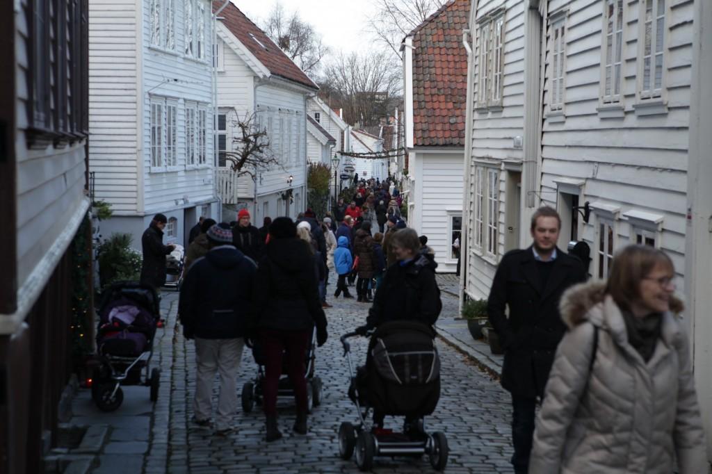 Christmas market in Gamle Stavanger 10