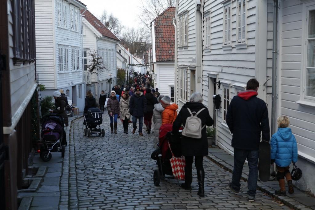 Christmas market in Gamle Stavanger 11