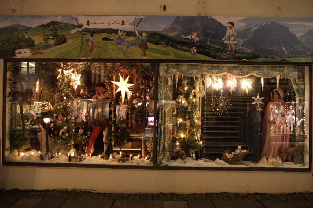 Stavanger City Center - Christmas lights on 08