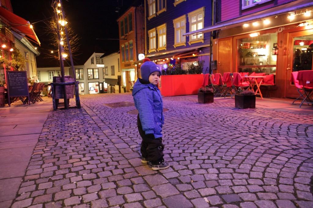 Stavanger City Center - Christmas lights on 11