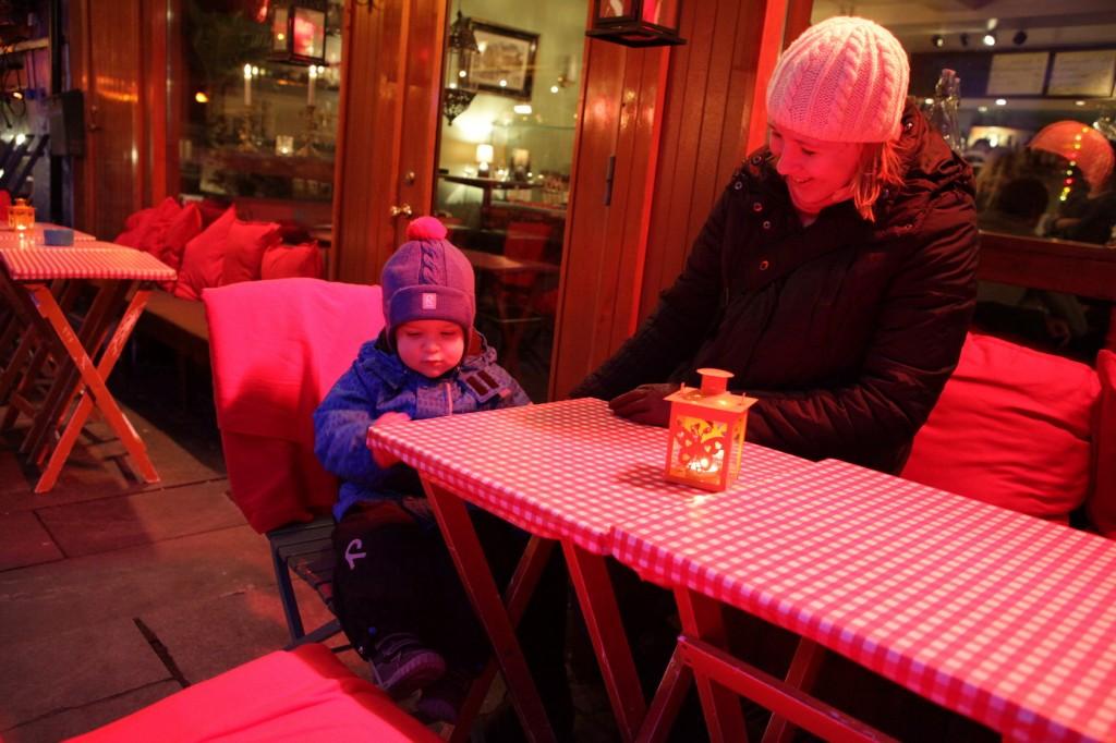 Stavanger City Center - Christmas lights on 13