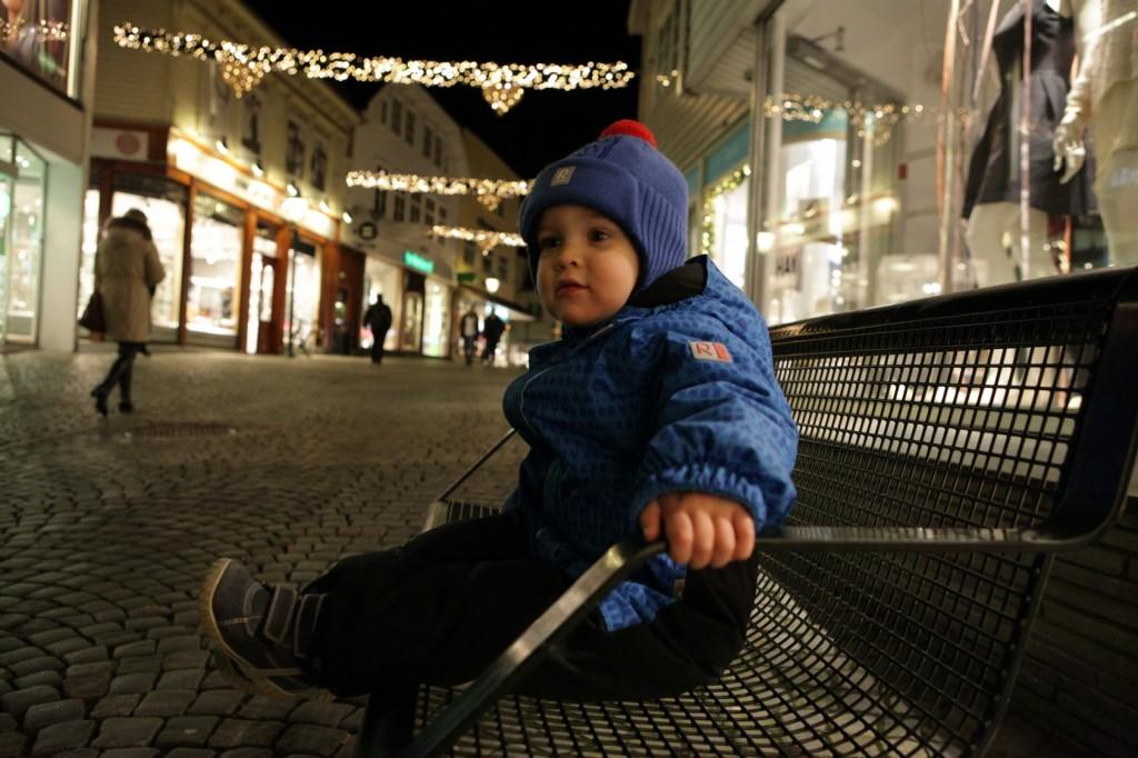 Stavanger City Center - Christmas lights on 15