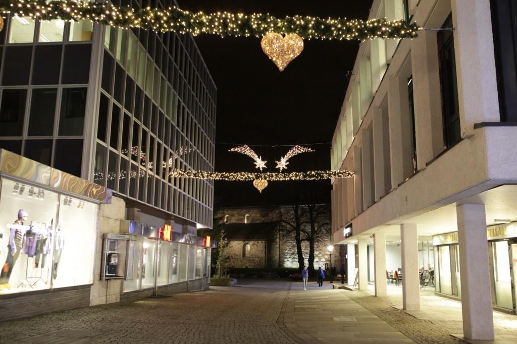 Stavanger City Center - Christmas lights on 19