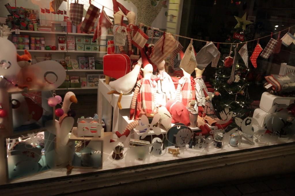 Stavanger City Center - Christmas lights on 21